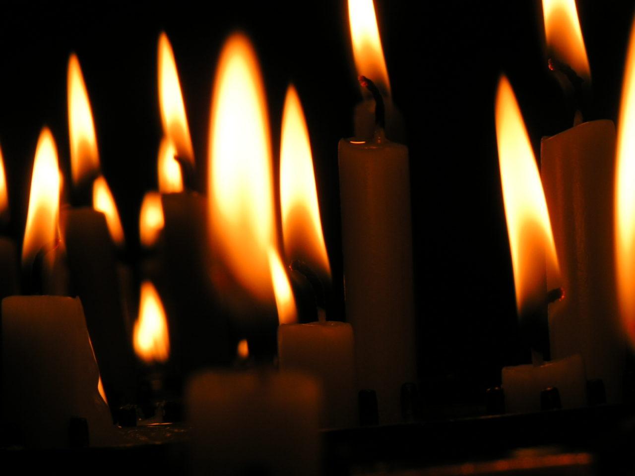 Incendio velas