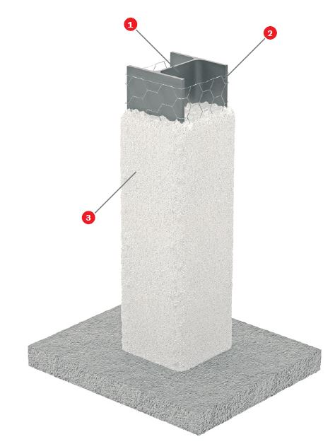 Foto Proteccion elementos acero tuneles
