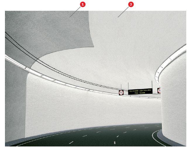 Foto proteccion de tuneles