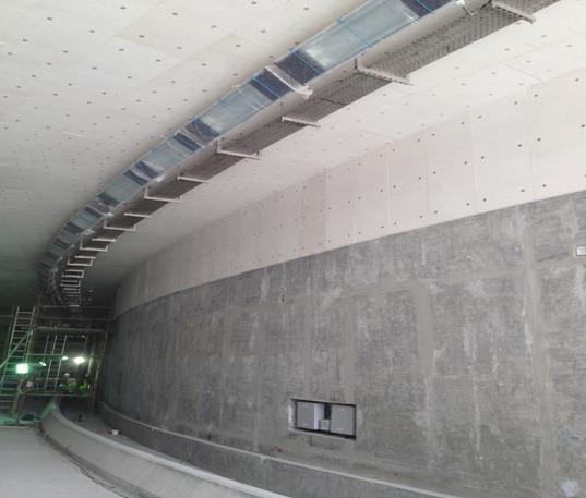 Proteccion ignifuga tunel