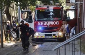 2 niños mueren en un incendio en Barcelona