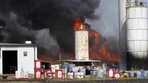 ¿Cuales son los principales causantes de incendios en las industrias?