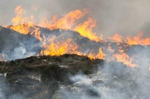 Espectaculares fotos del incendio de Seseña