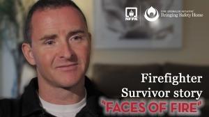 """El bombero superviviente Lionel Crowther detalla como fue su recuperación de un incendio en su hogar y la tensión emocional provocada por sus lesiones. """"No pensaba que las lesiones me afectaran sólo a mi, sino también a mi familia. Ello ha afectado a todos los aspectos de nuestras vidas. Pensé que nunca iba a conseguir de nuevo a la vida que teníamos antes."""" Nombre: Lionel Crowther Fecha del incendio: 4 Febrero de 2007 Lesiones: quemaduras en el 70%de su cuerpo; el 30% eran de tercer grado y el 20% tuvo que ser injertado. Durante la realización de una búsqueda y rescate durante un incendio en una casa, el bombero Lionel Crowther fue golpeado violentamente hacia el suelo por la intensidad de las llamas. Su capitán lo vio lesionado mientras se dirigía hacia la salida. Escaparon de la casa, pero su capitán más tarde murió a causa de las heridas. A pesar de tratar de recuperar su independencia, Crowther dependía de su esposa para atender a sus necesidades más básicas. El cepillado de los dientes y aplicar el ungüento en su propia piel eran esfuerzos infructuosos. Ciertas dificultades emocionales también tuvieron lugar en su pareja. Ambos admitieron que las lesiones colocaron una inmensa tensión en su matrimonio. Si ese hogar hubiese contado con una correcta instalación de aspersores contra incendios, dice Crowther, que el fuego se habría apagado y nada hubiese cambiado ese día. Fuente: Fire Sprinkler Initiative"""