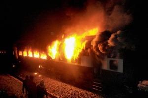 Los peores incendios en trenes del sXX y XXI