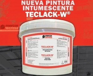 Lanzamos una nueva pintura ignífuga para la protección contra el fuego de estructuras metálicas