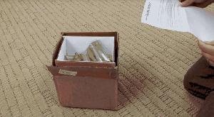 Caja ignífuga para la devolución de los Galaxy Note 7