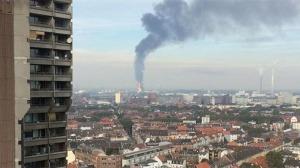 Incendio en la mayor planta petroquímica del mundo (Alemania)