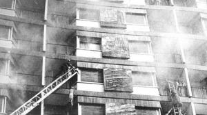 Piden re investigar el incendio del Hotel Corona de Aragón