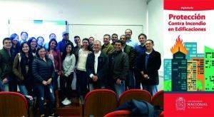 mercor tecresa® participa en el Primer Diplomado en Protección Contra Incendio en Edificaciones en la Universidad Nacional de Colombia