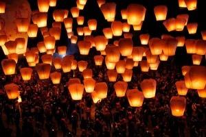 Incendios curiosos: Globos de los deseos
