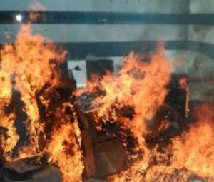 El hospital la Fe sufre un conato de incendio en unos restos de obras