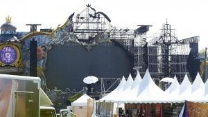 Incendio en el Tomorrowland de Barcelona