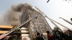 Los edificios que sufren incendios no siempre se derrumban
