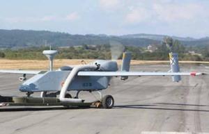 Drones militares contra incendios