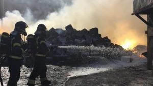 Nube tóxica de magnesio en Madrid por un incendio