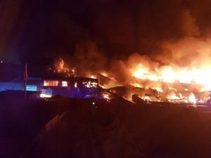 Incendio en una nave de Londres. ¿Que necesitamos para proteger contra estos incendios?