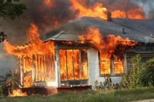 Demostración de la rapidez de propagación de un incendio