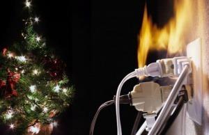 Aumentan un 25% los incendios en Navidad