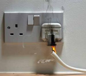 Incendios eléctricos: los más comunes
