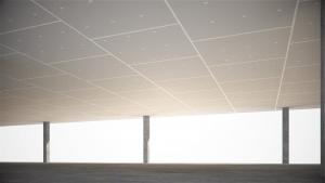 Falso techo independiente Tecbor