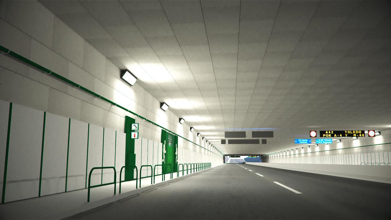 Falsos techos Tecbor tuneles
