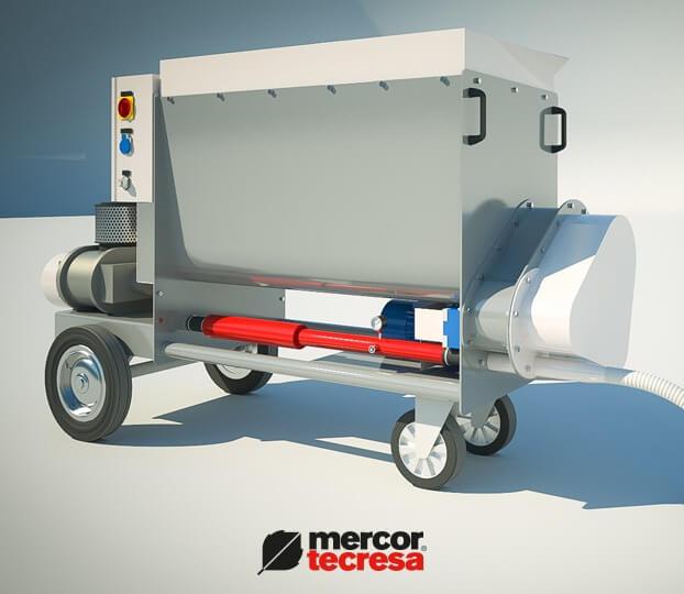 Maquina de Proyeccion de mortero Tecwool