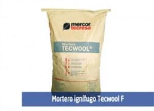 mortero ignifugo tecwool