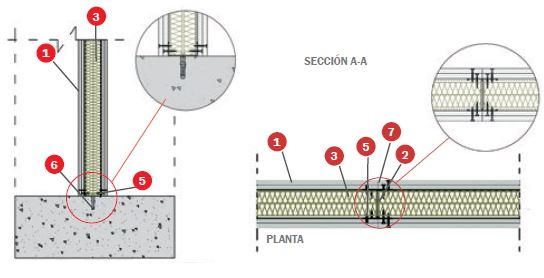 detalle tabique tecbor ei180