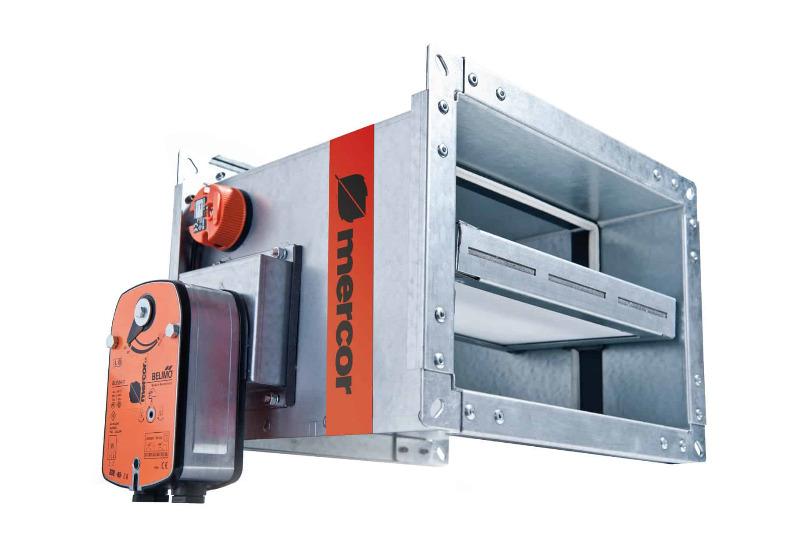 compuerta cortafuego rectangular mcr FID-C