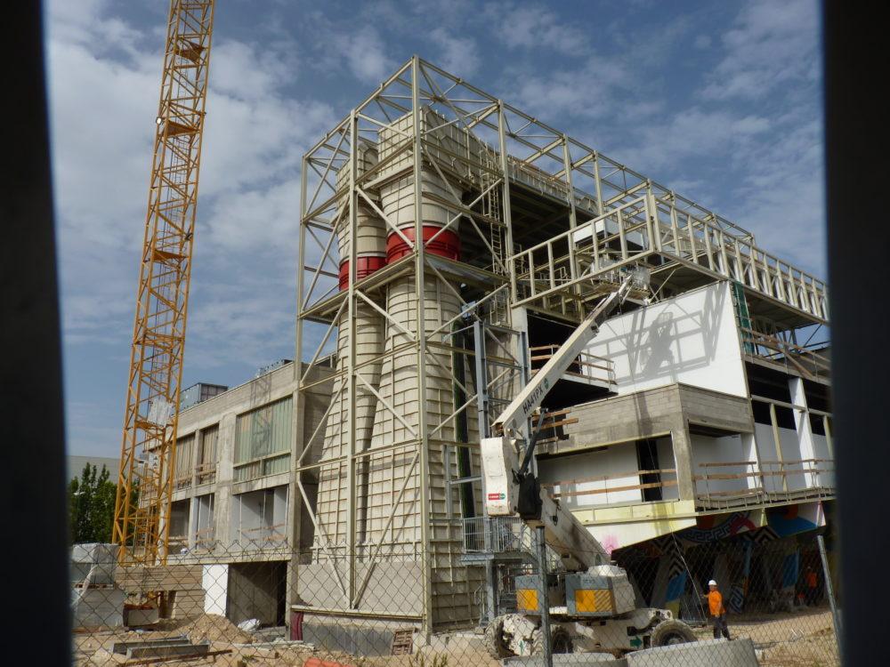 Obras Terminal Zero Zaragoza protegida con Pintura Intumescente Teclack-W® Mercor Tecresa