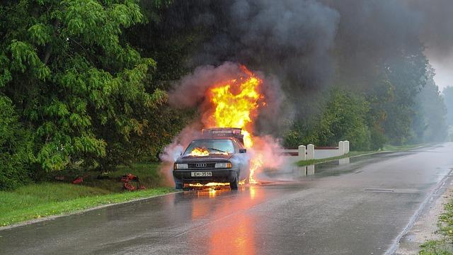 Incendio Gasolina cómo apagarlo