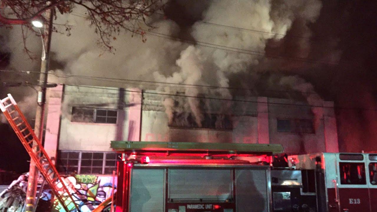 Incendio discoteca Okland