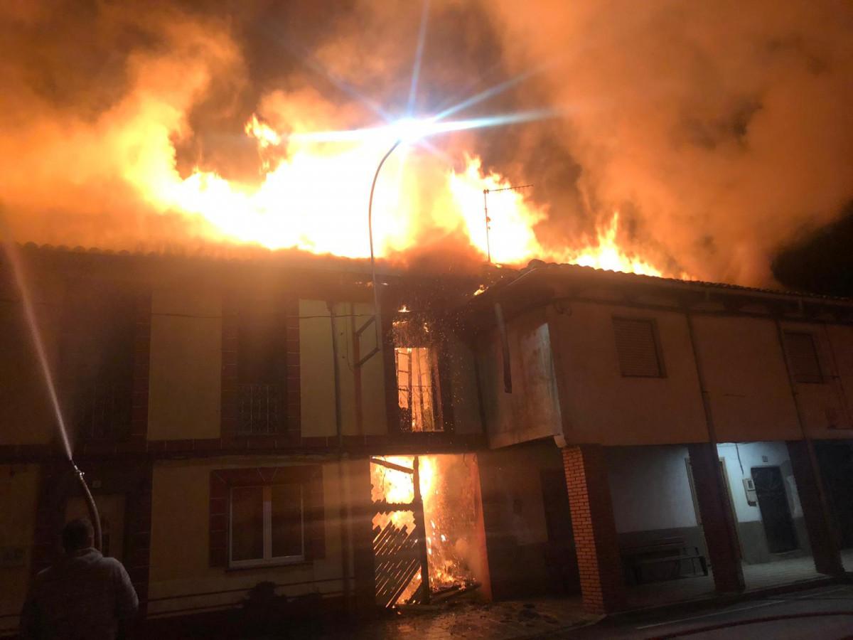 Incendio en Edificios