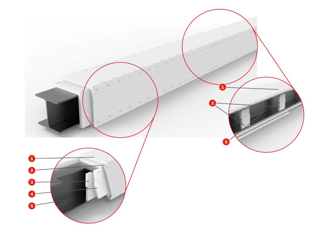 Sistema fijacion con grapas
