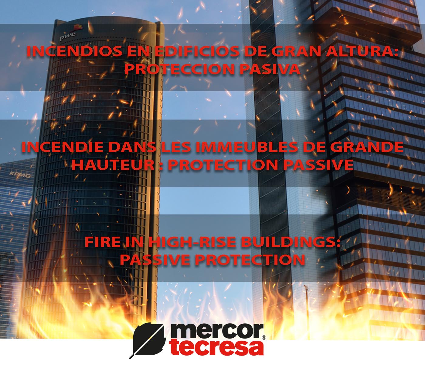 Fuegos edificio gran altura