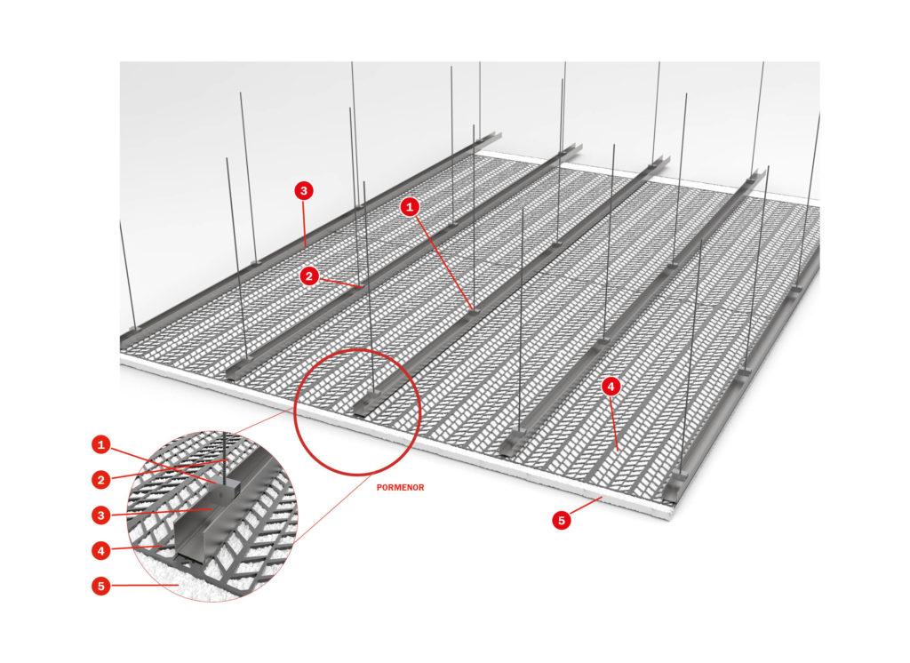 Tecplaster membrane
